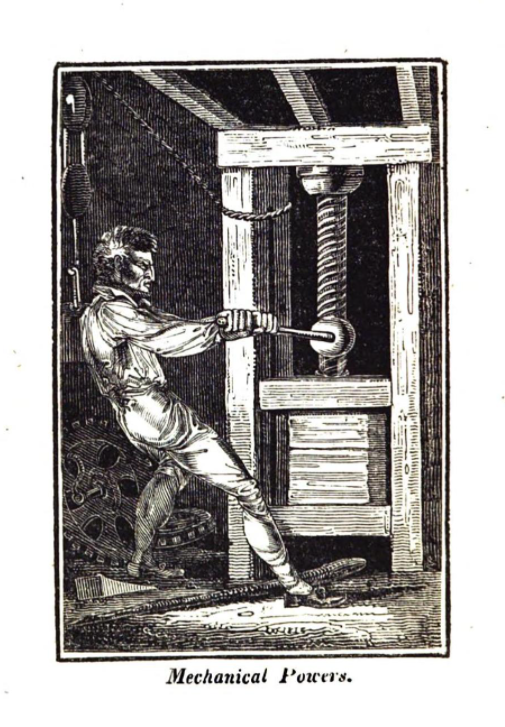 Engraving from 19th century Book of Trades